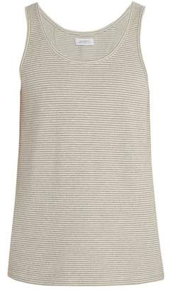 Saturdays NYC Nick Cotton Blend Tank Top - Mens - Grey