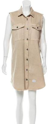 Calvin Klein Jeans Button-Up Collared Dress
