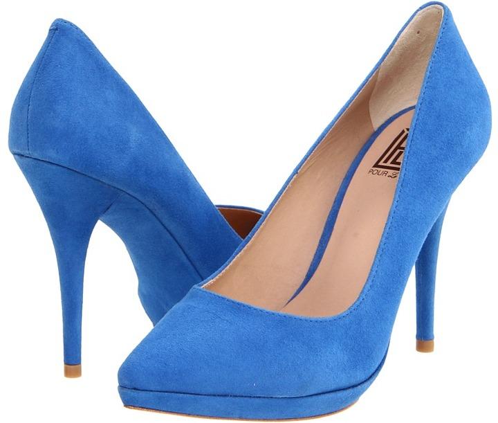 Pour La Victoire - Daina (Royal Blue Kid Suede) - Footwear