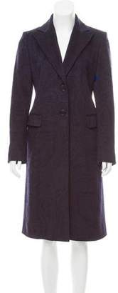 Loro Piana Printed Wool Coat