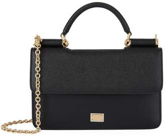 Dolce & Gabbana Leather Cross Body Bag