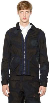 Kolor Printed Cotton Poplin Jacket