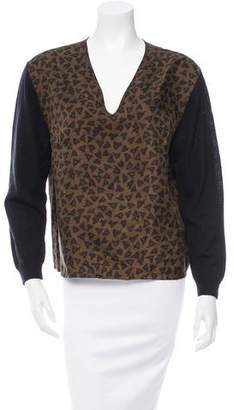 Dries Van Noten Silk & Wool Blend Top