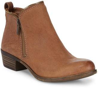 Lucky Brand Women's Classic Leather Booties