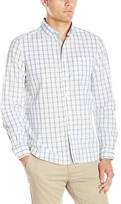 Kenneth Cole New York Men's Ls Bdc Large Check