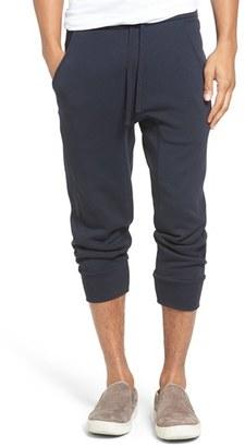 Men's Vince Slim Fit Crop Sweatpants $195 thestylecure.com