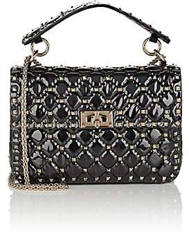 Valentino Women's Rockstud Spike Medium Shoulder Bag - Black