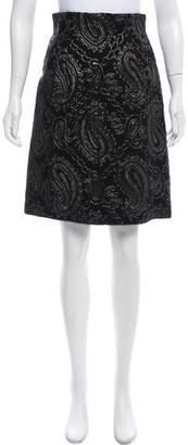 Marc Jacobs Brocade A-Line Skirt w/ Tags
