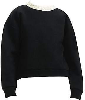 cb99d460c2 Maje Women s Faux Pearl-Embellished Sweatshirt