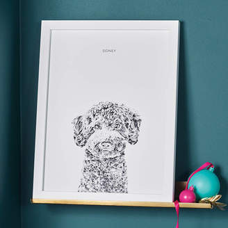 Ros Shiers Personalised Dog Portrait