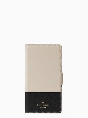 Kate Spade Magnetic wrap iphone x & xs folio case