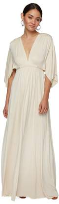 Rachel Pally LONG CAFTAN DRESS - CREAM