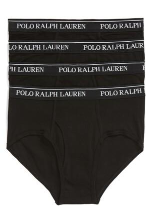 Polo Ralph Lauren 4-Pack Low Rise Cotton Briefs