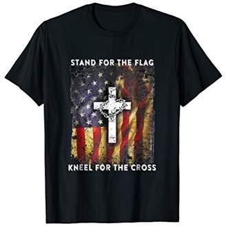 American Eagle USA Patriots - Christian Cross T shirt
