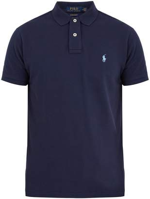 Polo Ralph Lauren Custom slim-fit cotton-piqué polo shirt
