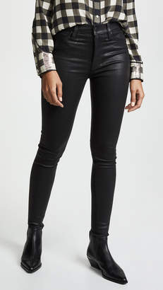 Hudson Barbara Noir Coated Jeans