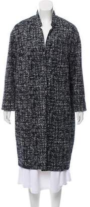 Eleventy Knee-Length Knit Coat w/ Tags