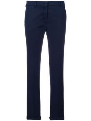 Incotex high-rise slim-fit trousers