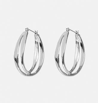 Avenue Double Horseshoe Earrings