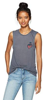 Obey Women's Strawberry Relaxed Fit Tank