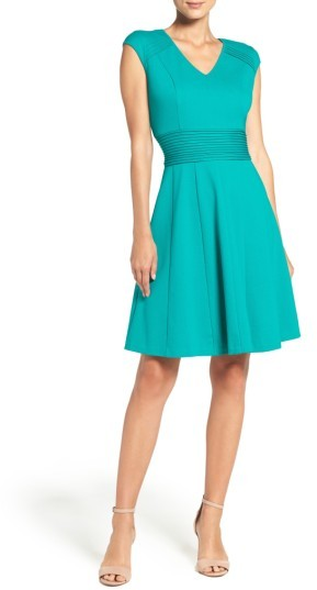 Women's Eliza J Ponte Fit & Flare Dress 3