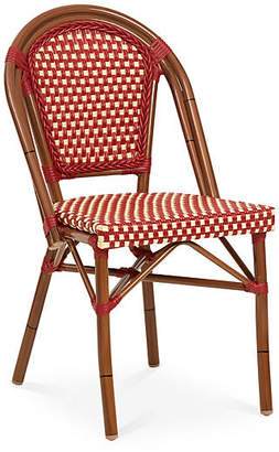 ... Tiab Inc. Outdoor CafA Bistro Chair   Red/White