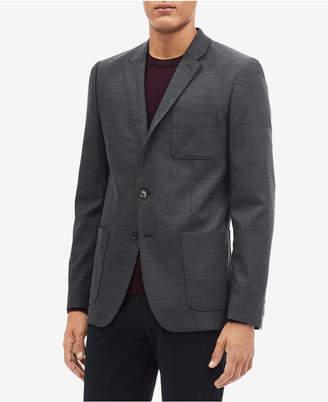 Calvin Klein Men's Slim-Fit Patch-Pocket Blazer