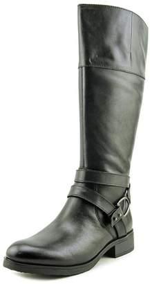 Bandolino Tess Round Toe Leather Mid Calf Boot