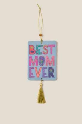Natural Life Best Mom Ever Tassel Air Freshener