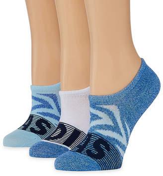 adidas 3 Pair Super No Show Socks - Womens