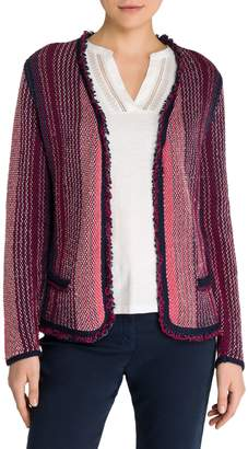 Olsen Multicoloured Open Cardigan