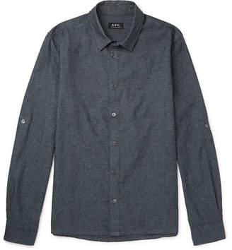A.P.C. Reno Cotton-Chambray Shirt