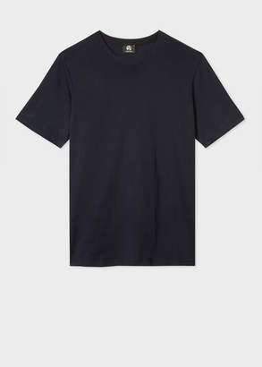 Paul Smith Men's Plain Navy Organic-Cotton T-Shirt