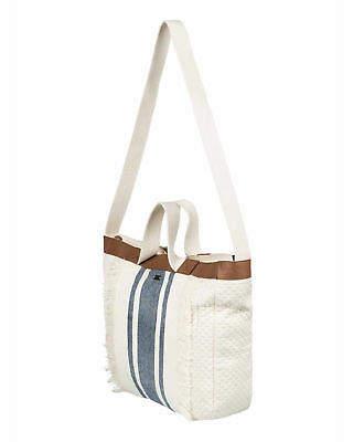 Roxy NEW ROXYTM Womens Bahamas Lov Canvas Shoulder Tote Bag Womens Handbag