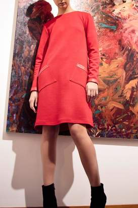 Couture Lyudviga Wool Knit Dress