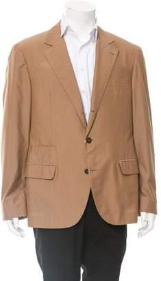 Brunello Cucinelli Deconstructed Wool-Blend Blazer w/ Tags