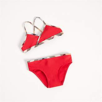 Burberry Check Trim Bikini