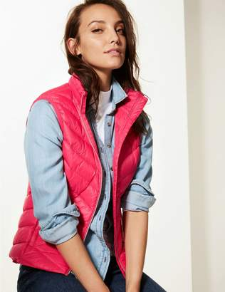 Marks and Spencer Lightweight Down & Feather Gilet with Stormwear