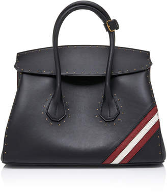 Bally Sommet Top Handel Leather Tote