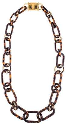 Michael Kors Turn-Lock Chain-Link Necklace gold Michael Kors Turn-Lock Chain-Link Necklace