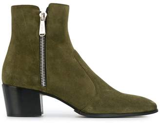 Pierre Balmain side zip boots