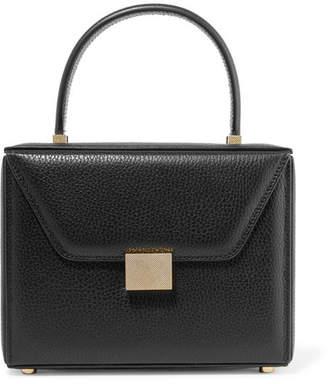 Victoria Beckham Vanity Textured-leather Tote - Black