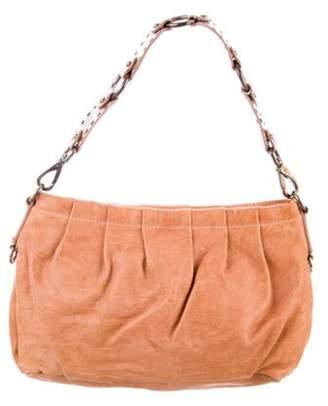 Miu Miu Leather Shoulder Bag Tan Leather Shoulder Bag