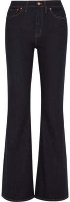 Madewell Flea Market High-rise Flared Jeans - Dark denim
