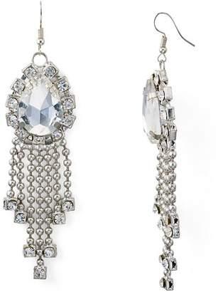 Area Stars Alicia Bead Fringe Drop Earrings