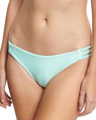Splendid Sun Sational Cutout Swim Bottom, Green $48 thestylecure.com