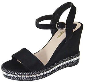 Bella Marie Platform Wedge Sandal