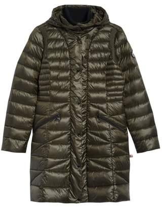 Bernardo Bib Hooded Walker Coat