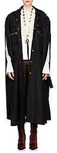 Chloé Women's Virgin Wool Hooded Cape - Black