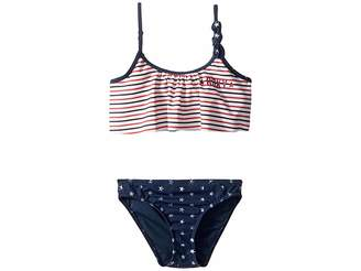 Roxy Kids Surfing USA Flutter Swim Set (Toddler/Little Kids)